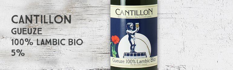 Cantillon – Gueuze – 100% Lambic Bio – 5%