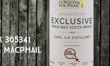 Caol Ila - 1999/2012 - 50% - Cask 305341- Gordon & MacPhail pour Asta Morris