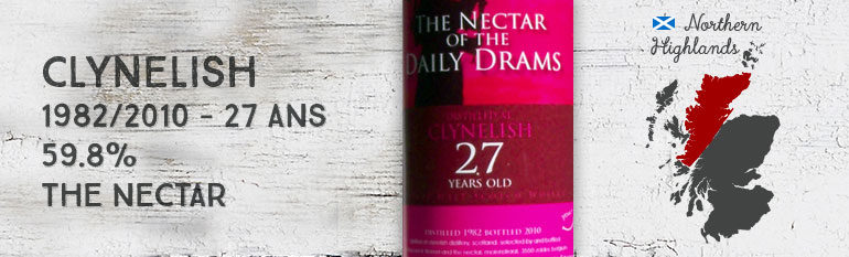 Clynelish – 1982/2010 – 27yo – 59,8% – The Nectar for LMDW