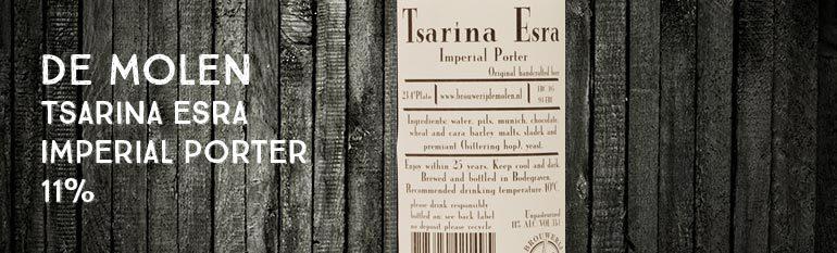 De Molen – Tsarina Esra – Imperial Porter – 11%