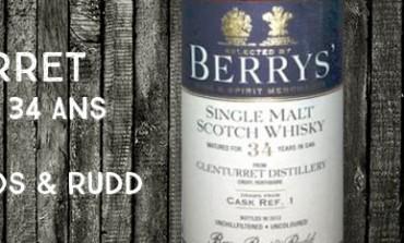 Glenturret - 1977/2012 - 34yo - 46% - Cask 1 - Berry Bros & Rudd
