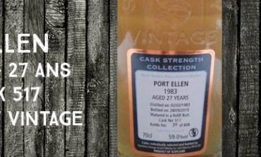 Port Ellen - 1983/2010 - 59% - Cask 517 - Signatory Vintage