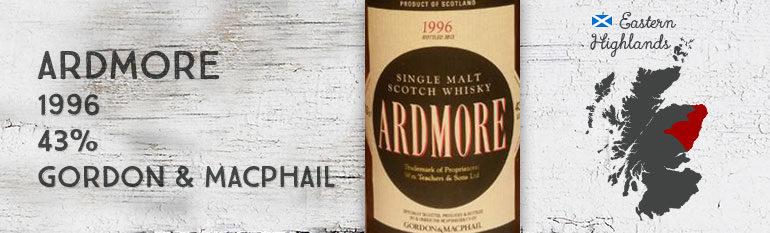 Ardmore 1996 – 43% – Gordon & Macphail