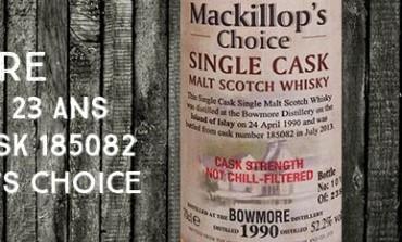 Bowmore - 1990/2013 - 23yo - 52,2% - Cask 185082 - MacKillop's Choice