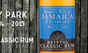 Reserve Rum of Jamaïca - Worthy Park - 2007/2015 - 8yo - 43% - Bristol - Jamaïque