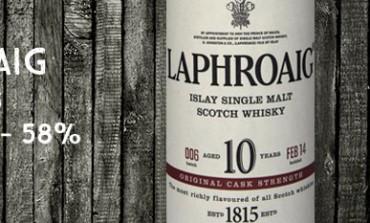 Laphroaig - 10 yo - Cask Strength Batch 006 - 58% - 2014