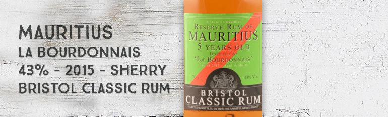 Reserve Rum of Mauritius – «La Bourdonnais» – 2010/2015 – 5yo –  43% – Bristol – Ile Maurice