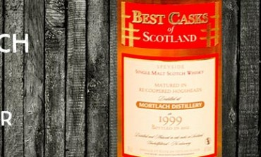 Mortlach - 1999/2012 - 43% - Jean Boyer Best Casks of Scotland