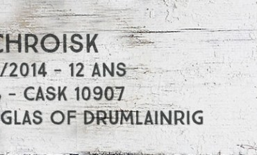 Auchroisk - 2001/2014 - 12yo - 46% - Cask 10907 - Douglas of Drumlanrig
