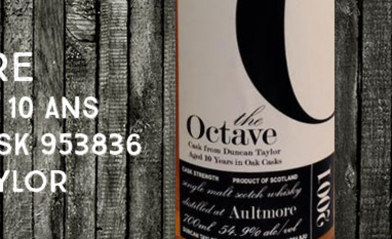 Aultmore – 2001/2012 – 10yo – 54,9% – Cask 953836 – Duncan Taylor Octave for Dugas