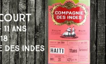 Barbancourt - 2004/2015 - 11yo - 43% - BMH18 - Compagnie des Indes - Haiti