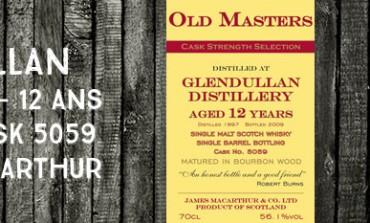Glendullan - 1997/2009 - 12yo - 56,1% - Cask  5059 -  James MacArthur Old Masters