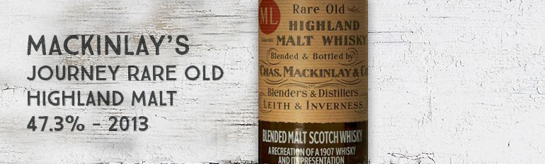 Mackinlay's Shackleton – Journey Rare Old Highland Malt – 47,3% – 2013