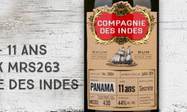 Panama - 2004/2015 - 11yo - 44% - Cask MRS263 - Compagnie des Indes - Panama