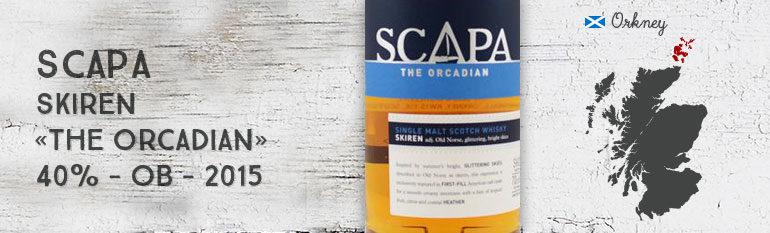 Scapa – Skiren – «The Orcadian» – 40% – OB – 2015