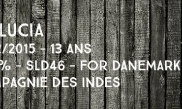 St Lucia - 2002/2015 - 13yo - 56,3% - SLD46 - Compagnie des Indes - Embouteillé pour le Danemark - Sainte-Lucie
