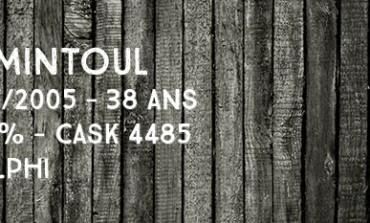 Tomintoul - 1967/2005 - 38yo - Cask 4485 - 49,2% - Adelphi