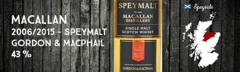 Macallan Speymalt 2006 – 43% – Gordon & Macphail