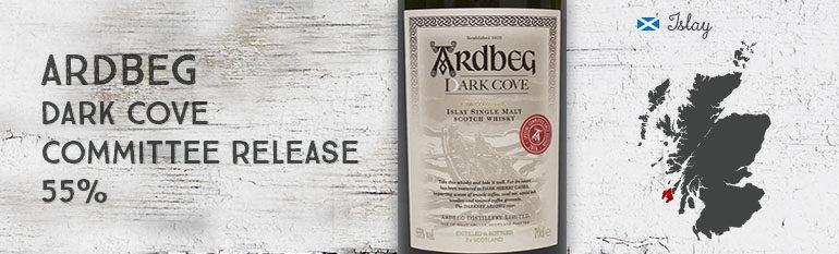 Ardbeg – Dark Cove – Committee Release – 55% – OB – 2016