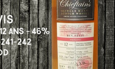Ben Nevis - 1999/2012 - 12yo - 46% - Casks 239-241-242 - Ian MacLeod Chieftain's
