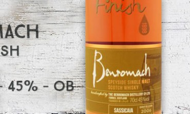Benromach - Wood Finish - Sassicaia -  2006/2015 - 45% - OB