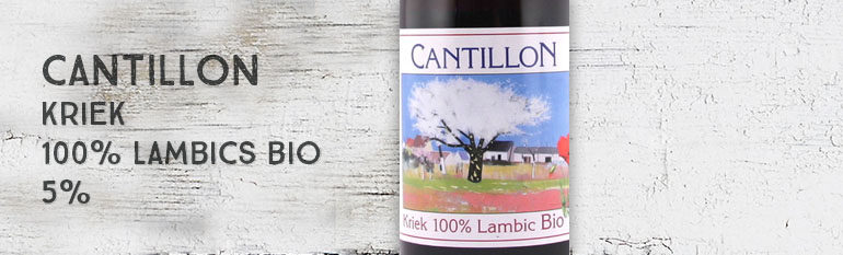 Cantillon – Kriek – 100% Lambic Bio – 5%