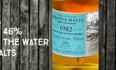 Caol Ila - 1982/2014 - Smoke on the Water - 46% - Wemyss Malts