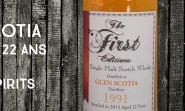 Glen Scotia - 1991/2013 - 22yo - 59,6% - Edition Spirits The First Edition