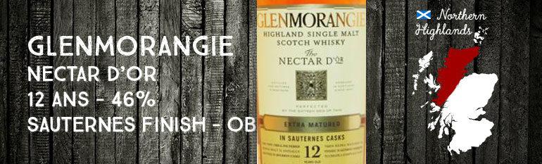 Glenmorangie – Nectar d'Or – 2nde Edition – 12yo – 46% – Sauternes Finish – OB