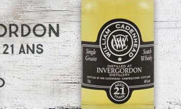Invergordon - 1991/2013 - 21yo - 46% - Cadenhead Black Label