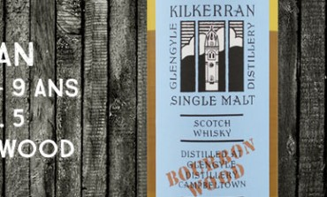 Kilkerran - Glengyle - 2004/2013 - 9yo - 46% - Work In Progress 5th Release - Bourbon Wood - OB