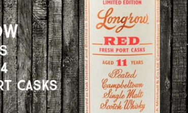 Longrow - Red - 11yo - Port Casks - 51,8% - OB - 2014