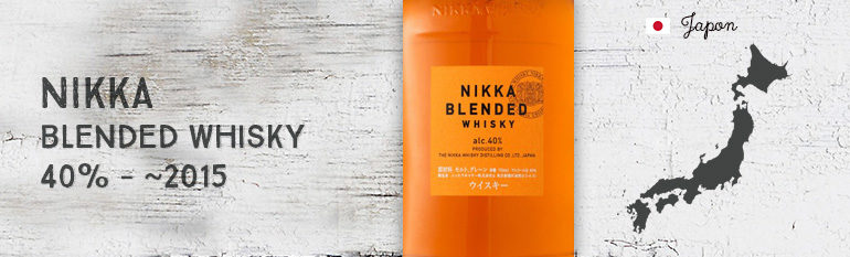 Nikka – Blended Whisky – 40%