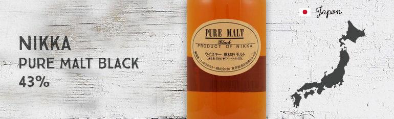 Nikka – Pure Malt «Black» – 43%