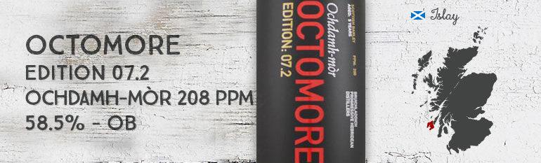 Octomore 7.2 – 5 yo – 58.5% – OB