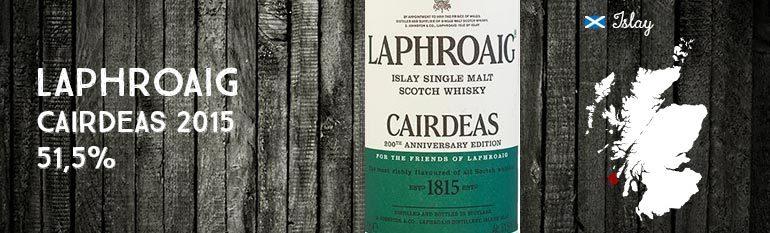 Laphroaig – Cairdeas 2015 – 51.5% – OB
