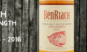 Benriach - Cask Strength - Batch 1 - 57,2% - OB - 2016