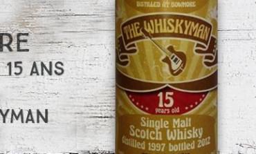 Bowmore - 1997/2012 - 15yo - 53,8% - The Whiskyman