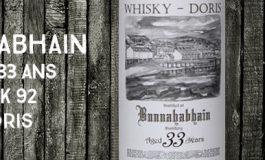 Bunnahabhain - 1980/2013 - 33yo - 45,6% - Cask 92 - Whisky-Doris