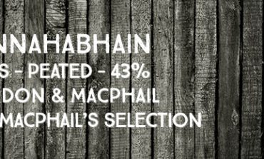 Bunnahabhain - 8yo - peated - 43 % - Gordon & MacPhail - MacPhails Selection - 2015