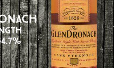 Glendronach - Cask Strength - batch 4 - 54,7% - OB - 2015