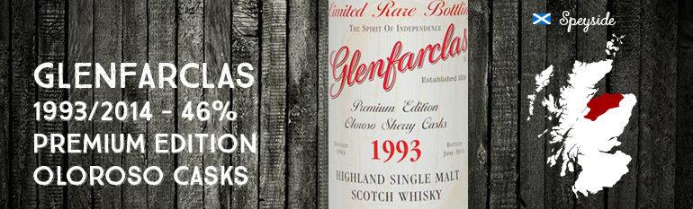 Glenfarclas – 1993/2014 – 46% – Premium Edition – Oloroso Sherry Casks – OB