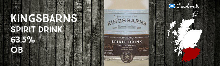 Kingsbarns – Spirit Drink – 63,5% – OB