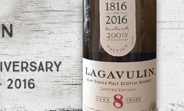 Lagavulin - 8yo - 200th anniversary - 48% - 2016