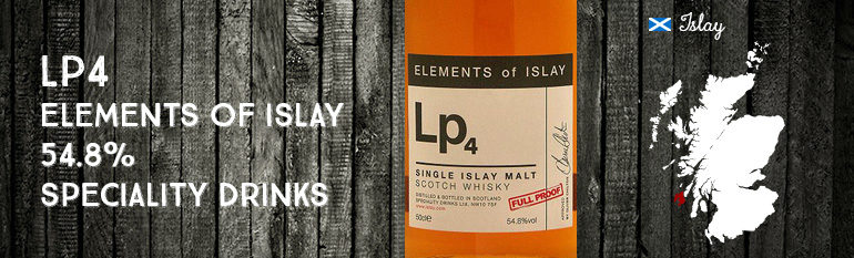 Lp4 – Elements of Islay – 54.8% – Speciality Drinks
