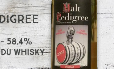Malt Pedigree - Peatbull - 2002/2009 - 58,4% - La Maison du Whisky