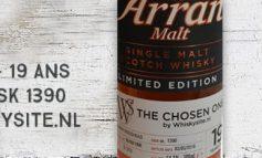 Arran - 1996/2016 - 19yo - 54,7% - Cask 1390 - OB for Whiskysite.nl