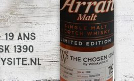 Arran - 1996/2016 - 19yo - 54,7% - Cask 1390 - OB for Whiskysite.nl
