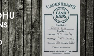 Dallas Dhu - 1979 - 34yo - 54,9% - Cadenhead - Cask Ends - Hand Bottled from the cask