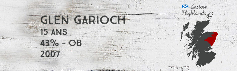 Glen Garioch – 15yo – 43% – OB – 2007